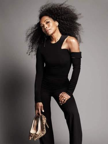 Angela Bassett covers Net-A-Porter Magazine
