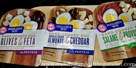 EAT THIS! Eggland's Best Hard-Cooked Egg Snacks For Anytime of the Day