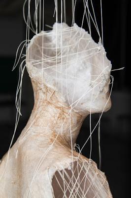 paper arts | paper + thread sculpture