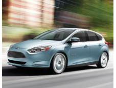 NASCAR Electric Ford Focus Pace