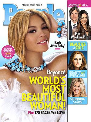 The World's Most Beautiful Woman is…