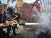 Silverio Compound Demolition Protest