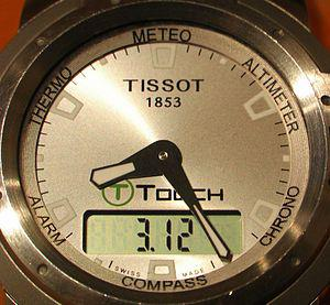 Tissot watch with T-Touch tecnology / Reloj Ti...