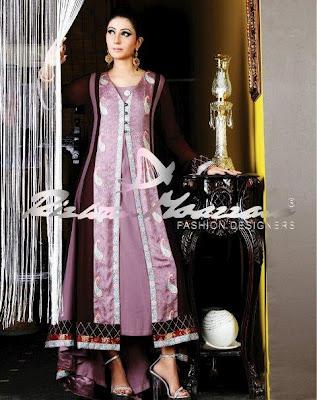 Rizwan Moazzam Latest Embroidered Fabrics Collection 2012