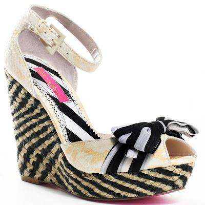 Shoe of the Day | Betsey Johnson Hitch Peep-Toe Wedge