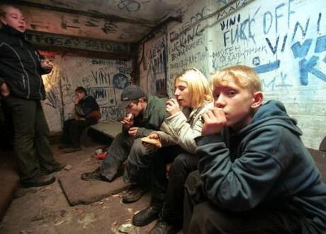 Teenaged drug users