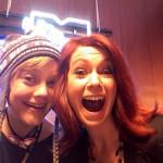 Photo: Carrie Preston Behind the Scenes at Sundance
