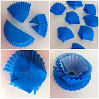 DIY Cupcake Flowers Tutorial
