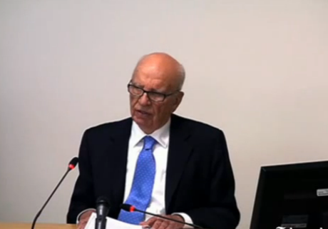 Leveson Inquiry: Rupert Murdoch apologises for phone hacking