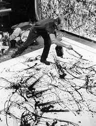 abstract expressionism, jackson pollock, abstract art, modern art, abstract painting