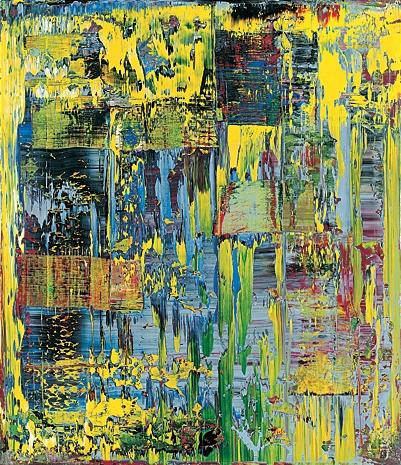 Gerhard Richter, abstract painting, yasoypintor, contemporary art, modern art gallery,