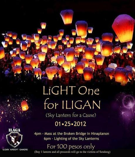 LIGHT ONE FOR ILIGAN| A Sky Lantern for a Cause
