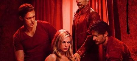 True Blood Season 4 Poster Bill Eric Sookie wide