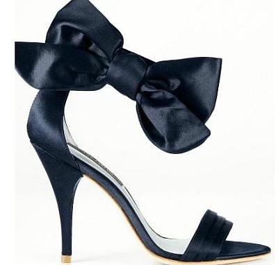 Shoe of the Day | Ann Taylor Jackie Bow Sandal