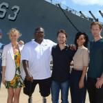 Alexander Skarsgard  Battleship Photo Call At The Battleship Missouri Memorial Michael Buckner Getty 8