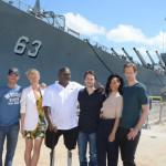 Alexander Skarsgard  Battleship Photo Call At The Battleship Missouri Memorial Michael Buckner Getty