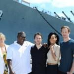 Alexander Skarsgard  Battleship Photo Call At The Battleship Missouri Memorial Michael Buckner Getty 11
