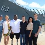 Alexander Skarsgard  Battleship Photo Call At The Battleship Missouri Memorial Michael Buckner Getty 4