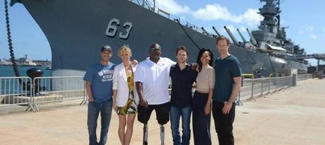 Alexander Skarsgard  Battleship Photo Call At The Battleship Missouri Memorial Michael Buckner Getty 15