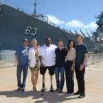 Alexander Skarsgard  Battleship Photo Call At The Battleship Missouri Memorial Mich