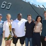 Alexander Skarsgard  Battleship Photo Call At The Battleship Missouri Memorial Michael Buckner Getty 6