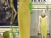 Donna Karan's Strapless Stetch Crepe-Jersey Dress