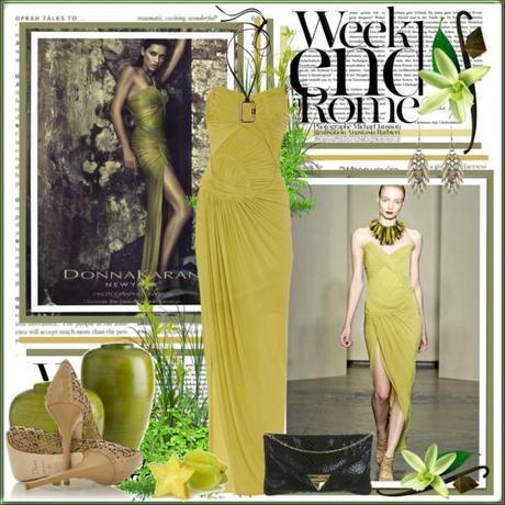 Donna Karan Strapless Stretch Crepe-Jersey Dress