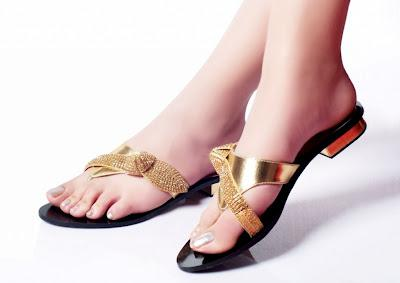 Metro Shoes Flat Foot Wear And Sandals Designs 2012