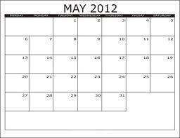 May 2012 Charity / Fundraising Observances