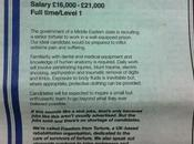 Scoped Out: Guardian Carries 'senior Torturer' Advertisement