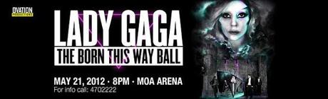 It's OFFICIAL: LADY GAGA in Manila 2012!