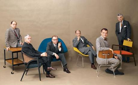 1961 Playboy: Nelson Wormley Saarinen Bertoia Eames Risom