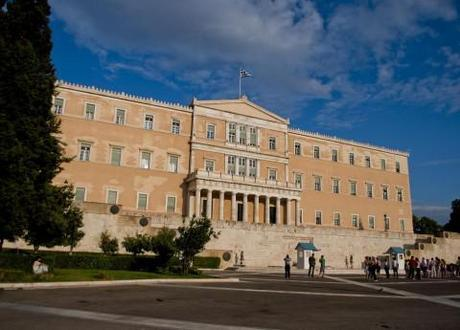 Greek Parliament: Greeks head to the polls this weekend.