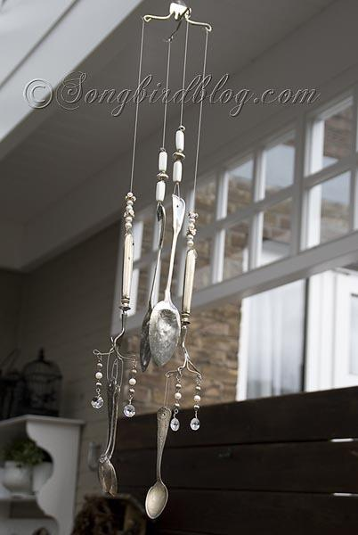 Silverware Wind Chime  4
