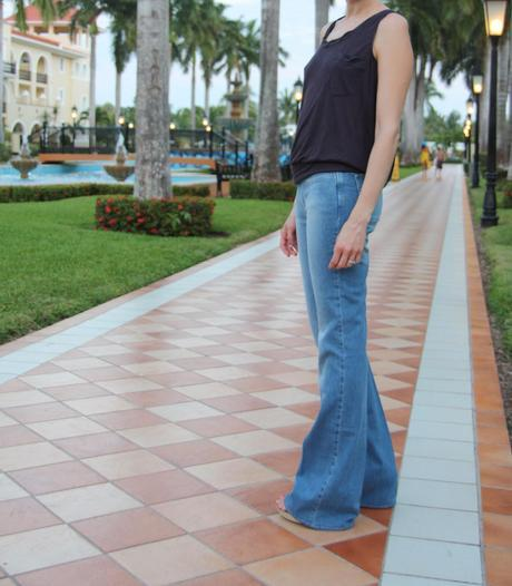 The flare jeans - again