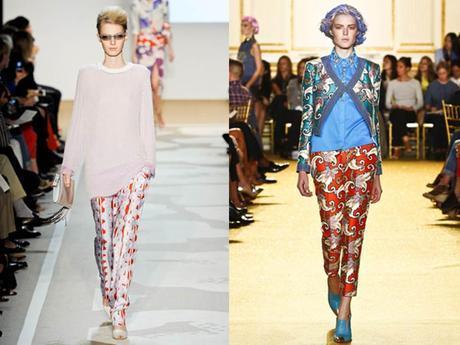 The silk trousers - Le pantalon en soie