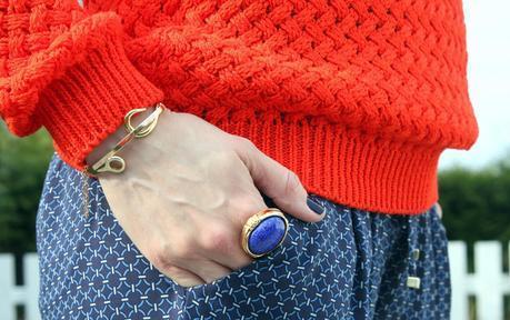 The orange sweater - Le pull orange