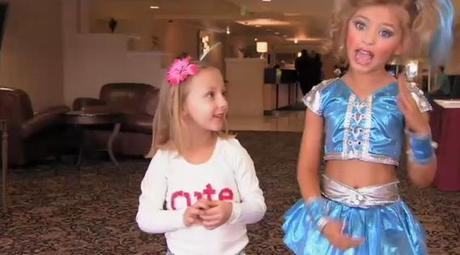 Toddlers & Tiaras: Enter The Land Of The Storybook Glitz Pageant. Where Robots, Booty Pops And Diamonds Are Totally A Girl's Best Friend. Math And Score Sheets? Not So Much.