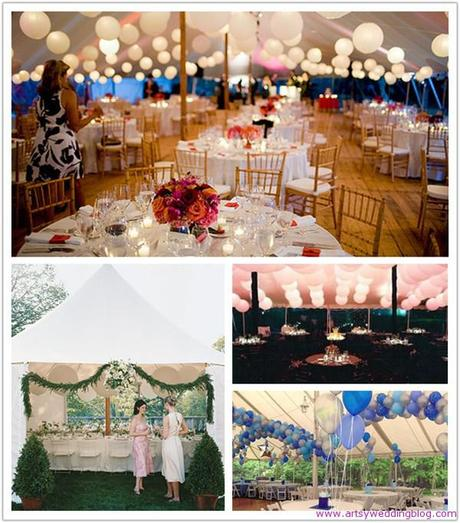 Wedding Tent Decoration Ideas