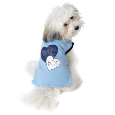 Mama's Boy dog t-shirt by Petrageous