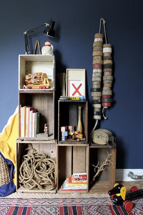 marion-house-book-boys-room-blue-red-rustic-white-box-shelving