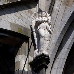 Angel with mobile phone