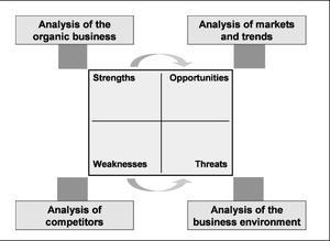 Figure 10: SWOT-Analysis of the organic busine...