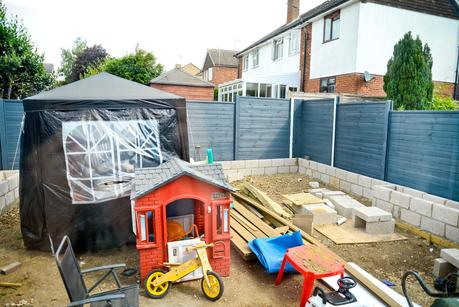 two storey front side extension, garden makeover
