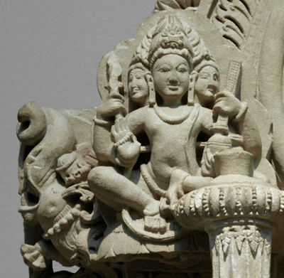 Brahma Mudra for Neck Health