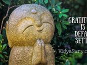 Gratitude Default Setting #GratitudeCircle