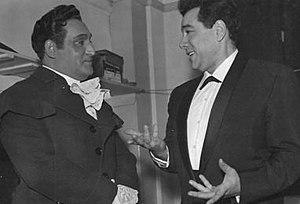 Richard Tucker and Mario Lanza