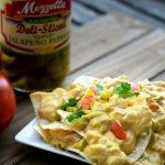 vegan green chile queso