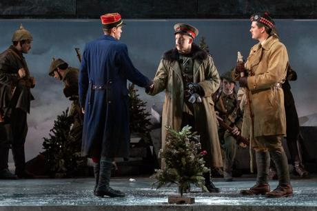 Futility of War Projected in @GOpera's 'Silent Night'