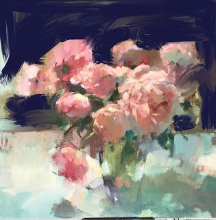 Using technology to solve a painting - and a blog glitch